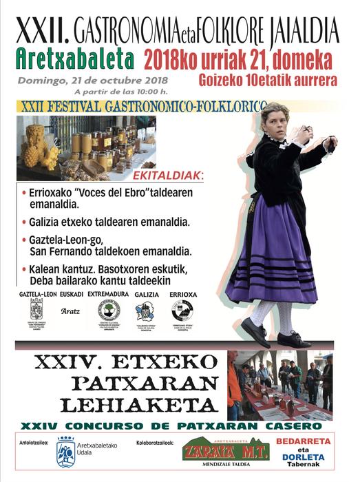 22. Gastronomia eta Folklore Jaia