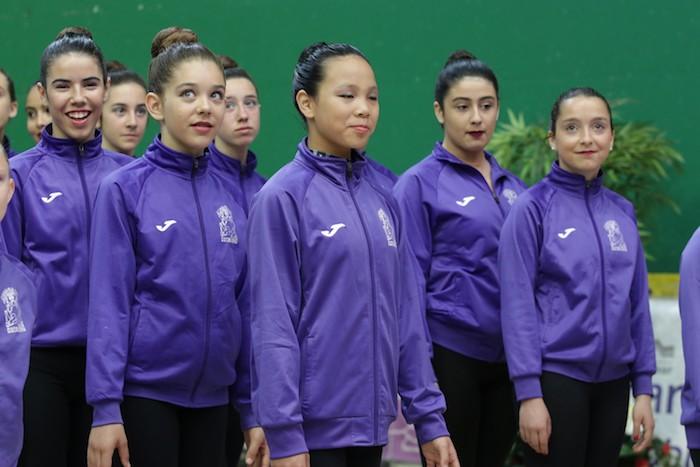 Ikasturte amaierako erakustaldia egin dute arrasateko gimnastek - 7