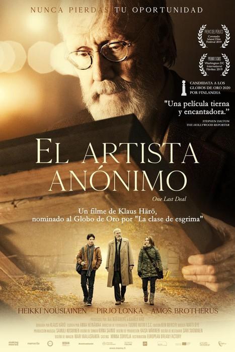 'El artista anónimo' pelikula