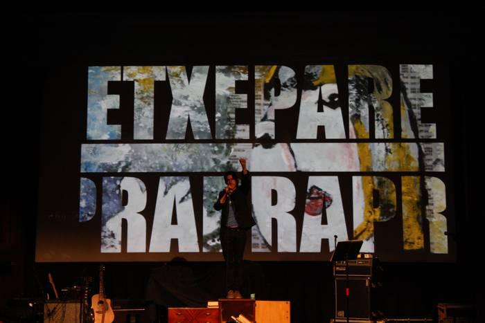 'Etxepare Rap' ikuskizuna eta Eroa Naizen taldearen kontzertua, Antixenan