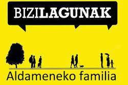 Bizilagunak- Aldameneko familia Mundua etxeko atarian