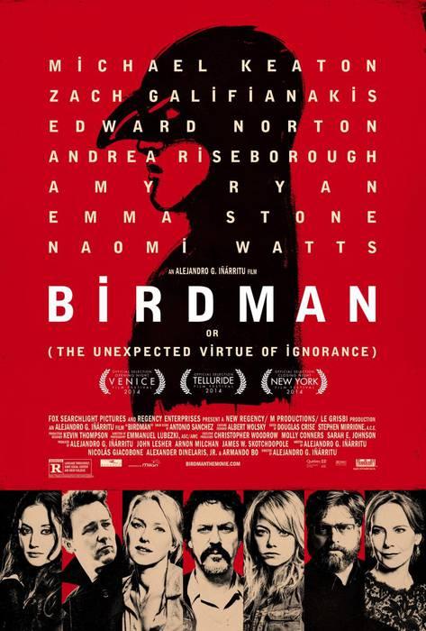 'Birdman' filma