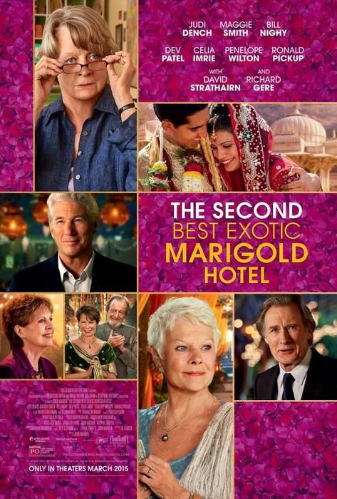 'El nuevo exotico hotel Marigold' filma