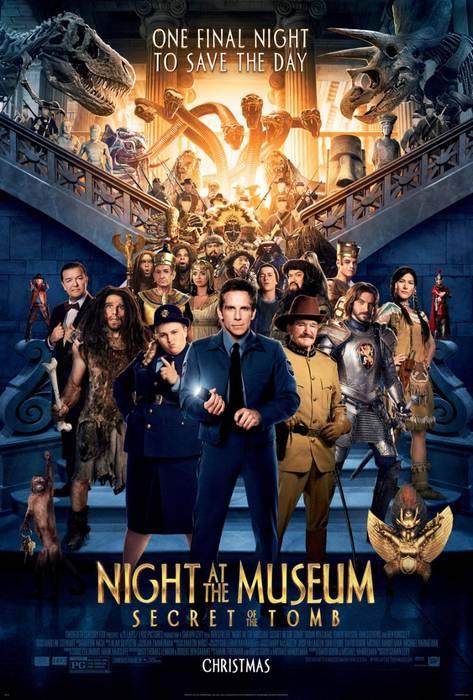 'Noche en el museo' filma