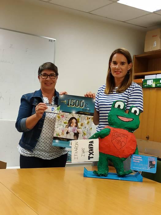 Mila Zabaletak irabazi du Txandaren 1.500 euroko saria