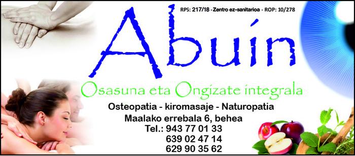 Abuin J.L. (Osteopata D.O. – Kiromasajista – K. Naturista) logotipoa