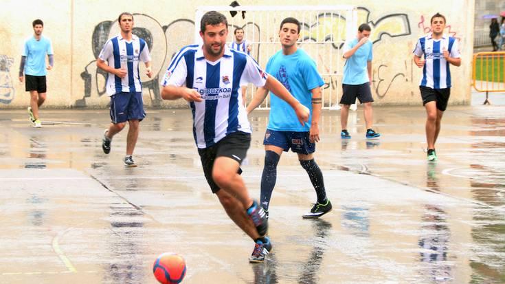 15 talde Bergarako egun osoko Semicup torneoan
