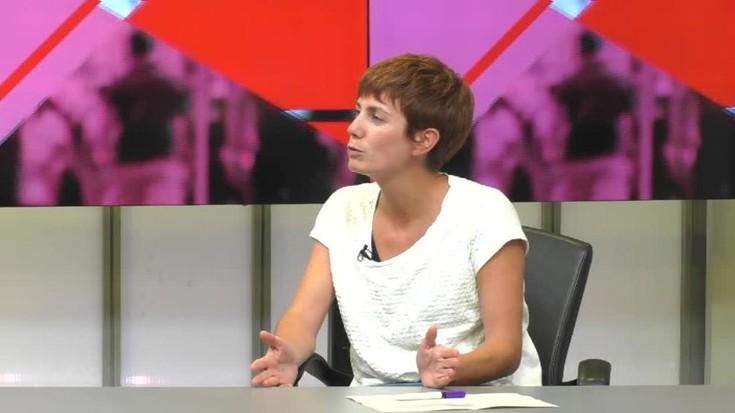 """Ainhoa Mendibil: """"Ikerketaren abiapuntua da jakitea zein den euskarari lotzen diogun marka"""""""