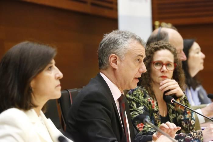 Iñigo Urkulluk bere gobernuaren europazaletasuna erakutsi du ALDE taldeak Donostian egin duen bileran