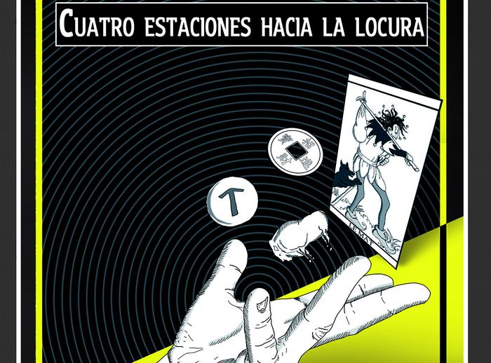 'Cuatro estaciones hacia la locura' liburua argitaratu du Evaristok