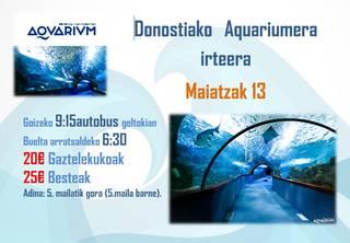 Elgetako Gatelekuarekin Aquariumera