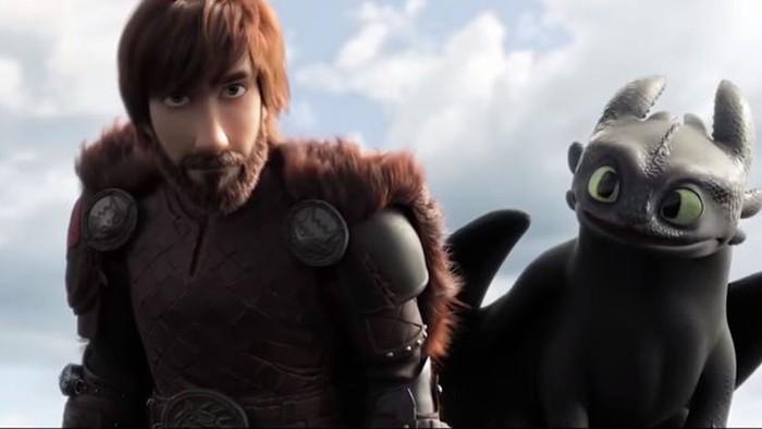 'Como entrenar a tu dragon 3' filma
