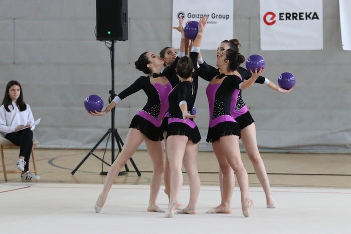Maila bikaina gimnasia erritmikoko txapelketan - 43