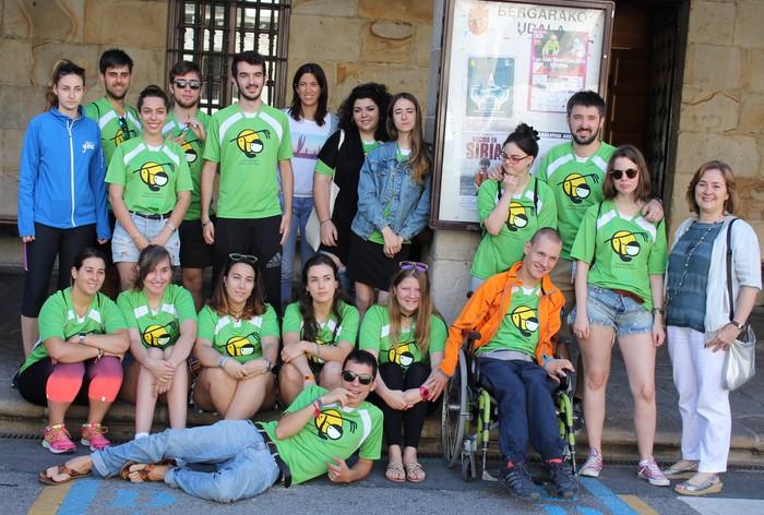 Bergaran dira Mizpirualdeko auzolandegirako boluntarioak
