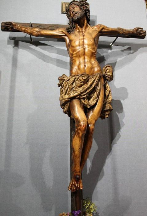 Bergarako Santo Kristo Hilzorikoa ikusgai dago Sevillan  - 5