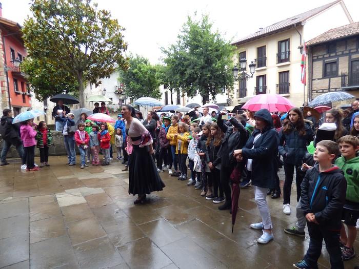 Ikusmina sortu du Maledantza taldeak flamenko erakustaldiarekin - 24