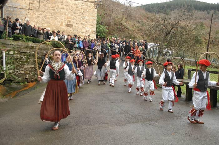 San Baleixo jaiak ospatuko dituzte urtarrileko azken asteburuan Meatzerrekan