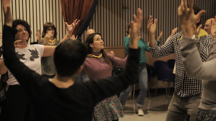 Gogoetaren ostean, arratsaldean dantza