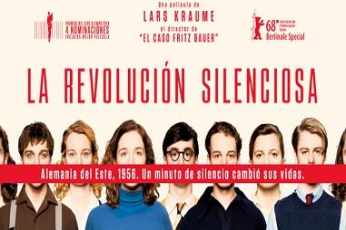 'La revolución silenciosa' filma, zineklubean