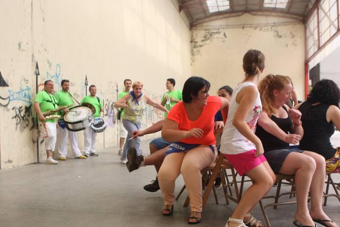Arrasateko Santa Marina auzoan festa giroa izango da nagusi gaur hasi eta domekara arte