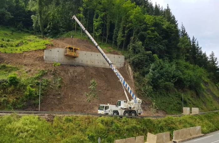 Intxaurtxueta eta Olazarreko tunelaren arteko bidegorri zatia zabalik