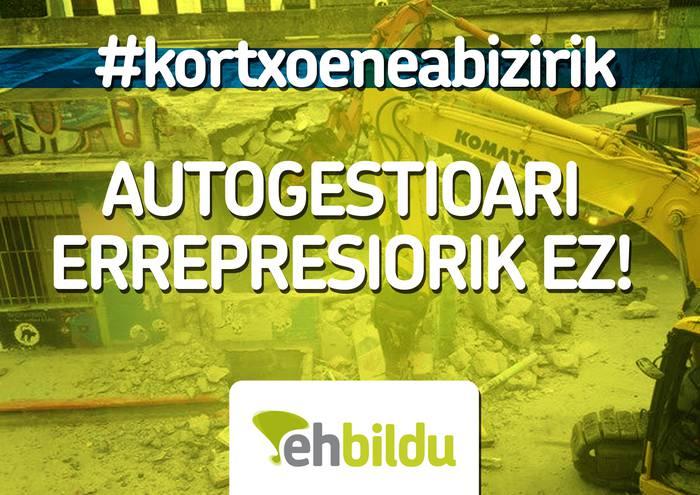 GUNE AUTOGESTIONATUEN DEFETSAN!! GAZTETXEAK AURRER