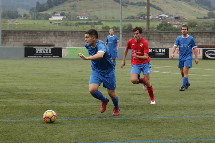 Jose Luis Agirreren omenezkoa Tolosak irabazi du: 1-2