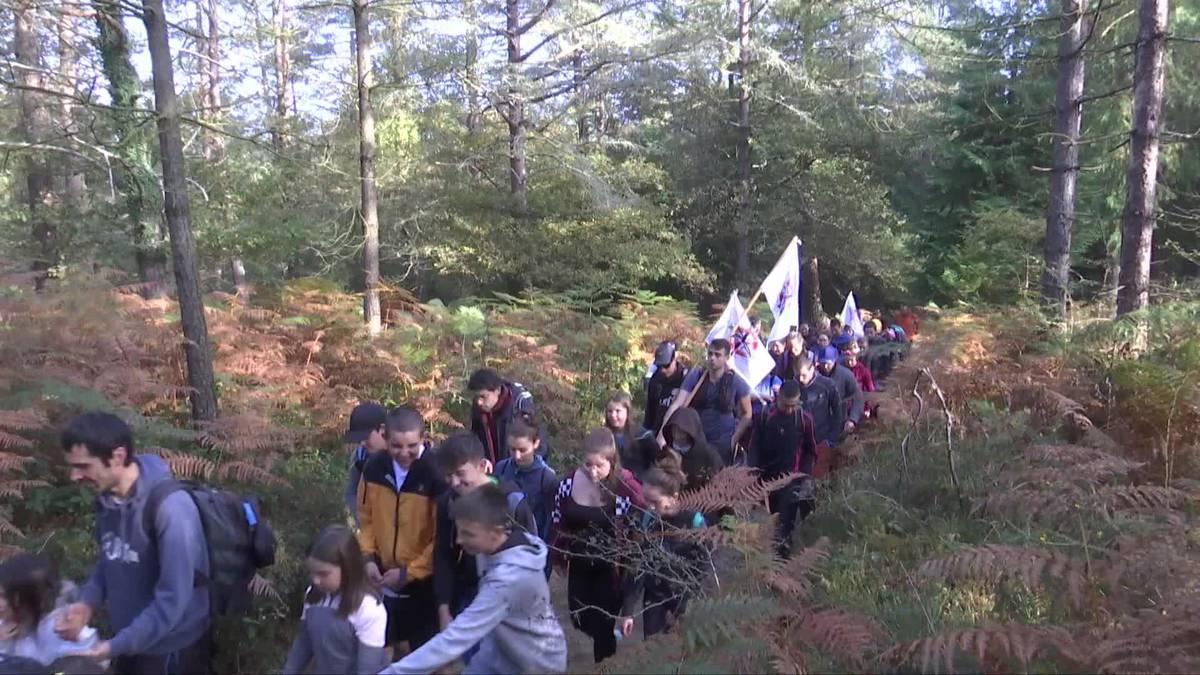 Jarindora igo dira eolikoen inguruan protesta egitera