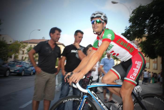 Mikel Aristiren Euskadik taldekako erlojupekoa irabazi du Girondeko Tourrean