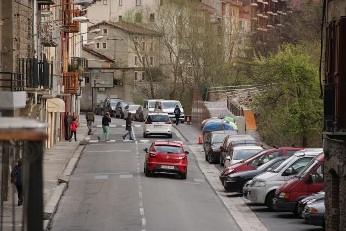 Urbanistikoki XXI. mendea ezagutu gura du Bergarako Zubieta kaleak