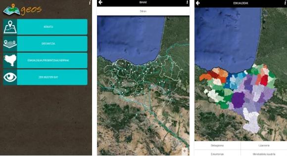 Euskarazko aplikazioak: Geos Euskal Herriko Geografia
