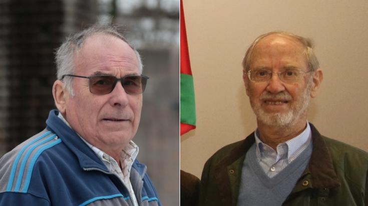 Pello Zabala eta Sabin Salaberri ohorezko euskaltzain izendatu dituzte