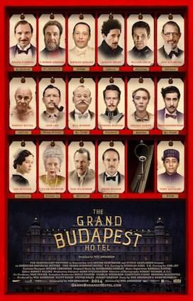 'Gran hotel Budapest' filma