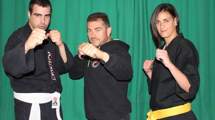 Open World Martial Arts txapelketan lehiatzera