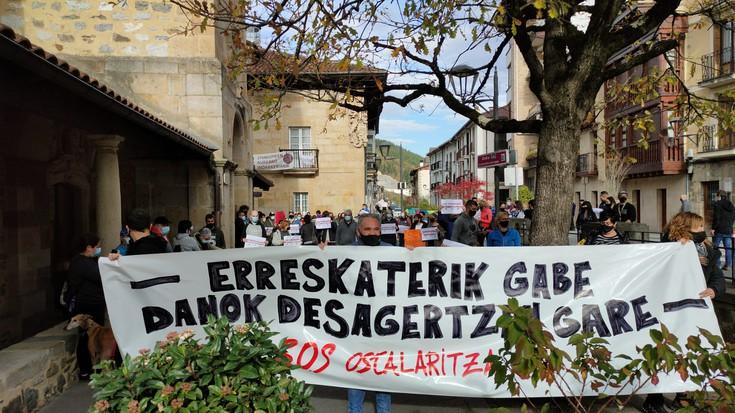 Laguntza eskatu dute ostalariek manifestazioa eginda