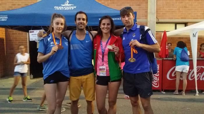 Malen Ruiz de Azua, Iñigo Uribarren eta Maialen Axpe, Europara begira