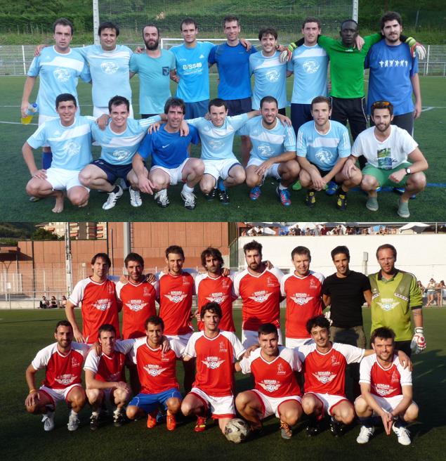 Bergarako udako futbol txapelketako finalak gaur Ipintzan