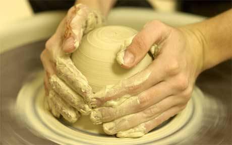 Helduentzako zeramika tailerra otsailean