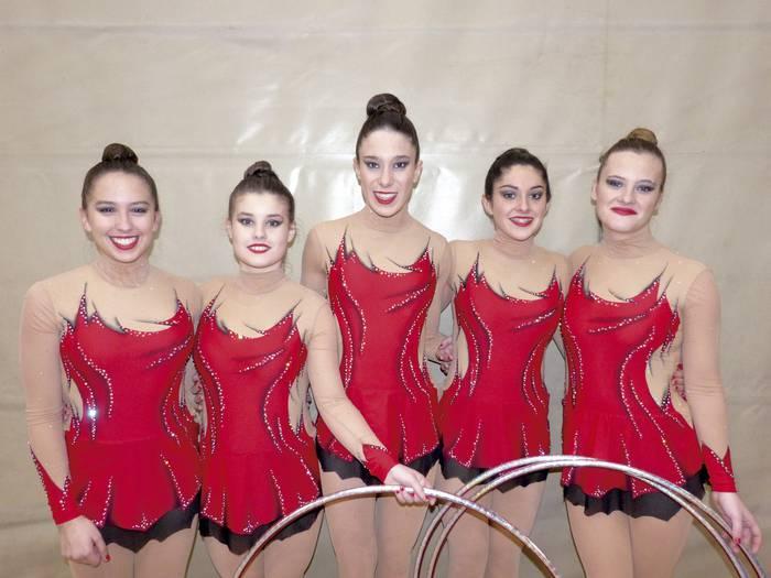 Debagoieneko gimnastak denboraldia hasteko gertu daude