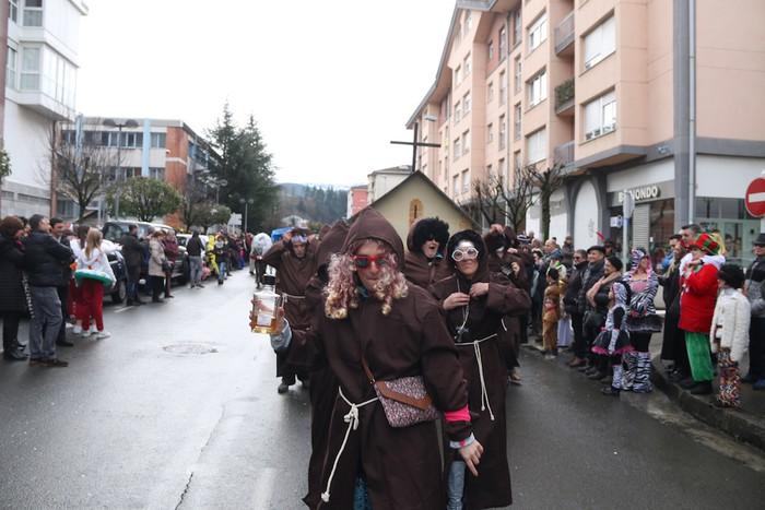 Inauterietako desfilea Aretxabaletan - 56