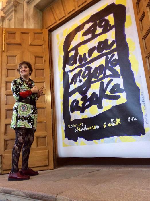 Kartel bizi-bizi eta deigarria aurten Durangoko 'kulturaren plazarako'