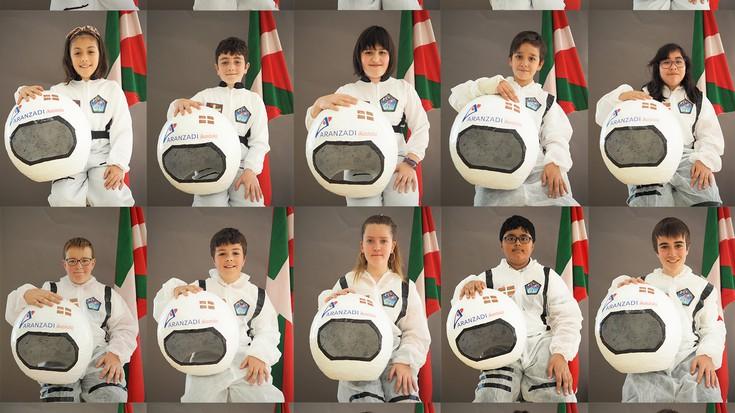 Aranzadi Ikastolaren eta Espazioko astronautaren arteko konexiorako prest