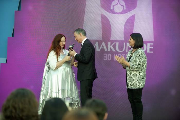 Berdintasunaren aldeko 2017ko Emakunde Saria jaso du Virginia Imazek