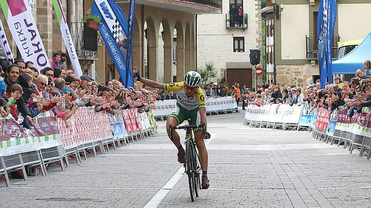 Katrin Garfootek irabazi du Antzuolako etapa