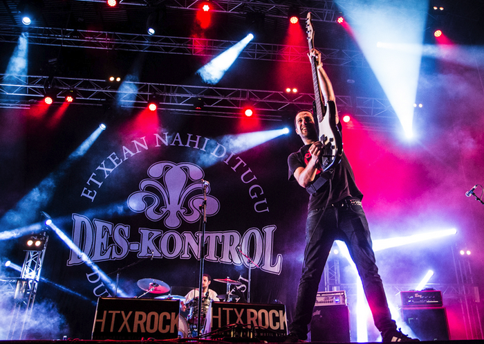 '40 minutu rock'-eko agertokian izango da Des-kontrol