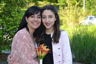 Soraya Barbero eta Maria Gallego