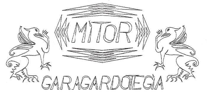 Mitor garagardotegia logotipoa