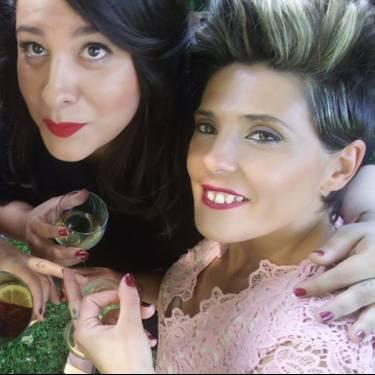 Anne Diaz eta Lorena Canales