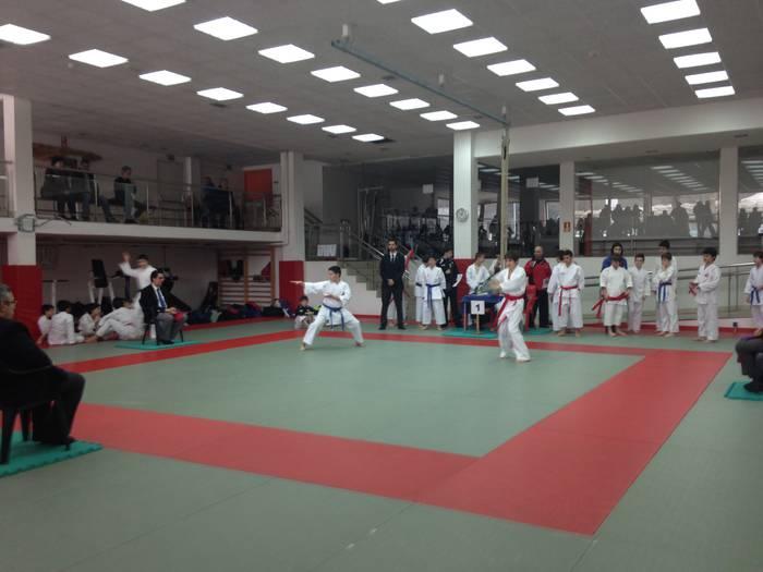 Saioa Karate Taldeko gazteek lau domina lortu dituzte Gipuzkoako Txapelketan