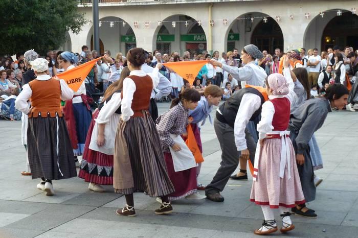 Beinke-Loramendi dantza entsegua